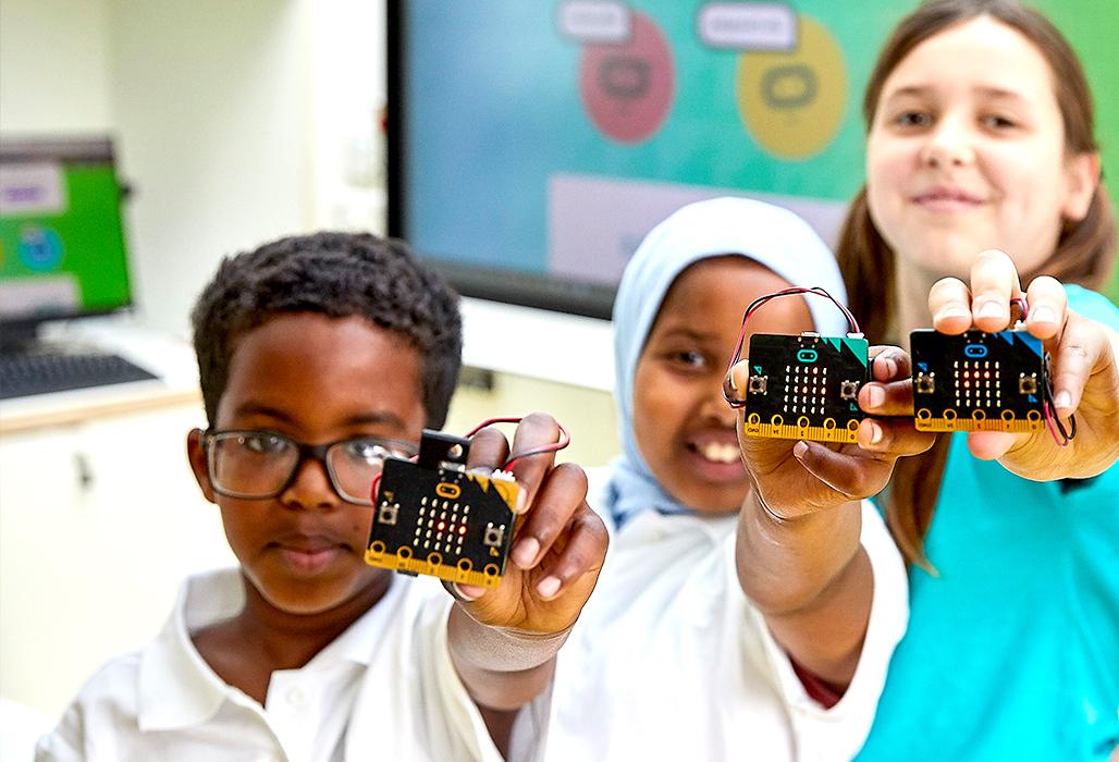 curso de robótica online com bbc microbit